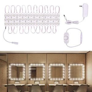 FCC 승인을 가진 화장대를위한 제 광기와 전력 공급 메이크업 거울 허영 LED 빛을 가진 Edison2011 DIY LED 거울 빛 단위