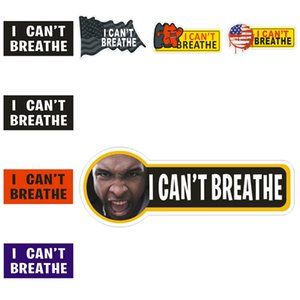 I can't Breathe Car Sticker 2020 Sticker Decoration Publicity Parade Personalized Creative Sticker 8 Black Lives Matter Too T3I5830