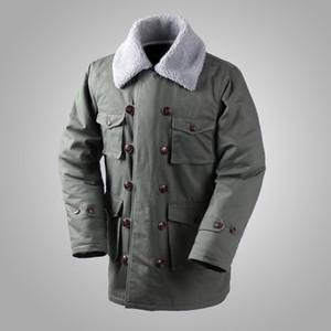 Allemand Connie Major Veste militaire M1909 manteau de combat d'hiver armée des hommes Outwear T200110