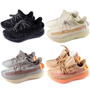 Adidas Yeezy 350 V2 2020 Yeni Geliş Zincir Reaksiyonu Günlük Ayakkabılar Çocuklar için Siyah Beyaz Pembe Moda Eğitmenler Spor çocuklara Casual Sneakers çalışan
