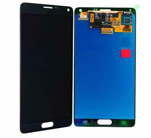 high quality for Samsung Galaxy Note 4 N910 N910A N910T LCD Display Touch Screen Digitizer black and white free DHL