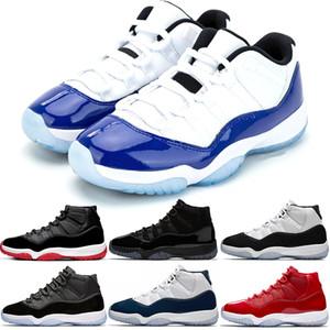 uomini donne scarpe da basket 11s mens formatori blu Concord cappello e abito Concord NUM45 Win Lake 82 96 allenatori sportivi scarpe da tennis Taglia 36-47