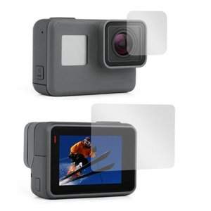 Tempered Glass Protector Cover Case For GoPro Go pro 5 6 7 Black Camera Lens LCD Screen Protection Film