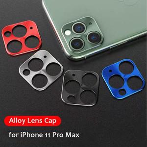 Camera Lens pellicola protettiva per iPhone 11 della copertura della protezione della macchina fotografica Len Pro Max metallo sul coperchio per iPhone fotocamera 11 Pro Max