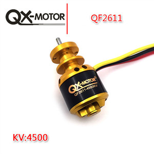 QX-MOTOR QF2611 4500kv 3S Brushless Motor Para RC Airplane 64 milímetros Ducted Fan Jet EDF DIY Drone Parts Sem Fan