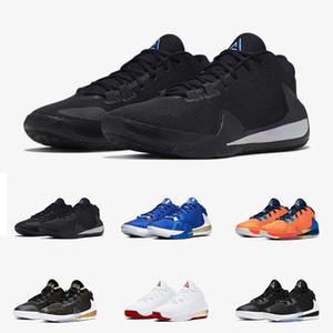 Giannis Antetokounmpo Yakınlaştırma Freak 1 Siyah yanardöner Yunanistan Sneakers 40-46 Amerika İmza Basketbol Ayakkabı Spor Designer'a geliyor