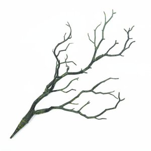 Artificial Plant Tree Branches Simulation Foliage Small Twigs Fake Natural Dry PVC Manzanita Dried Ramet For Wedding Decorations
