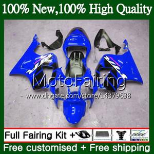 Fairing Bodywork For HONDA VTR1000 RC51 SP1 SP2 00 01 02 03 04 05 06 MF9 Glossy blue RTV1000 VTR 1000 2000 2001 2002 2003 2004 2005 2006