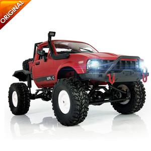 2019 WPL C14 1:16 Camion RC 1:16 Hynix 2.4G Mini voiture télécommandée tout-terrain 15km / H Vitesse maximale Mini Monster Truck 4RM R / KIT