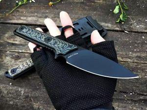 Трехместный авг конструкции Тэд передач охотничий нож коллекция прямые фиксированным лезвием тактический самообороны EDC нож коллекция охотничьи ножи a2965