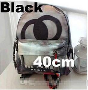 Graffiti sac corde toile imprimée Sac à dos brodé avec imprimé multicolore sac en toile de sac à dos école ABB