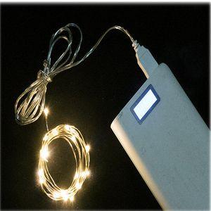 String Libreria decorazioni Ghirlanda Luce USB LED 2M 5M 10M 100LEDS filo di rame della lampada flessibile luci del libro per le vacanze di Natale Decor