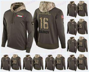 16 Aleksander Barkov Florida Panthers Salute Para Serviço Hoodies 5 Aaron Ekblad 1 Roberto Luongo Vincent Trocheck Hoodie Hockey