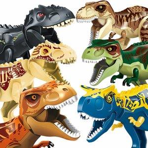 Jurassic World Park Dinosaurier Tier Building Blocks Figuren Duploes Ziegel Spielzeug für Kinder