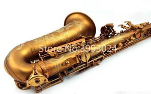 Konig Саксофон альт Kas-802 Mib Professional Master Возраста серия Antique Copper Simulation E Flat Sax электрофорез Gold