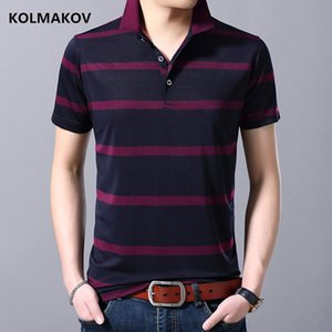 2019 summer new style Cotton Men  Shirt Men's fashion Casual Striped Slim short sleeves High Quality Commercial  Shirts