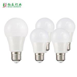 Lampadina del LED E27 5W 15W 86-220V intelligente IC LED bianco freddo bianco caldo Lampada fiala Bombilla punto della lampada luce Real Power