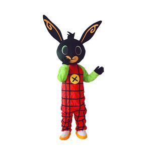 Nouveau lapin mascotte coup BING costume Déguisements de Noël pour l'événement fête d'Halloween