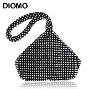 Diomo New Arrival diamant soirée Sacs pour Femmes Sacs à main pour femmes POCHETTE fête de mariage strass élégant