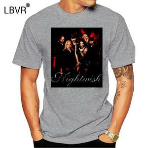 T-shirt Nightwish Tamanhos S-6X Camiseta Free Style For Men mulheres Camisetas