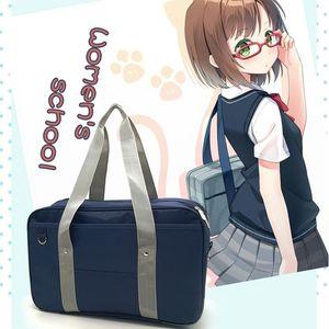Stile giapponese Jk Uniform Cosplay Borsa di marca di moda Oxford Borsa a tracolla High School Studenti Bookbag borsa da viaggio Messenger Y19061903