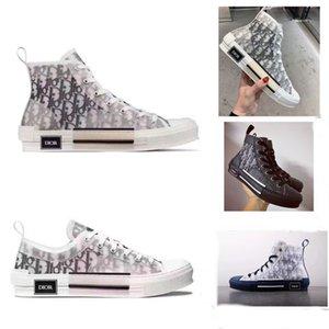 Zapatos casuales de Dior Homme oblicua X kaws por Kim Jones Hombres Mujeres Moda Designres Triple S lujo top zapatos del monopatín calza botas