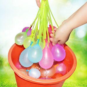 Divertido Agua Globos Magic Beach Juguetes del partido del verano al aire libre Llenado bombas globo de agua de juguete para los niños Niños Adultos