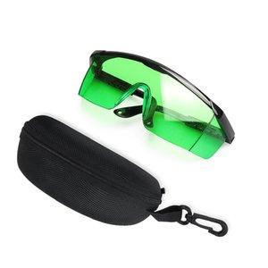 Optik kırmızı ve yeşil ışık lazer seviyesi aksesuarları aksesuarları gözün askısı taşınabilir özel koruyucu gözlük toptan özel