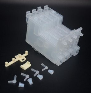 5 ensemble / lot, pièces CISS modèle U de bricolage, cartouche d'encre cis sans puces, pour système d'encre en vrac pour imprimante à jet d'encre Epson C68 D88 C88 C67 C87