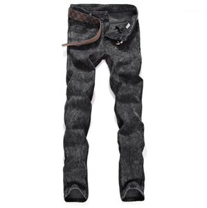 Apparel Designer Pantalon Skinny Crayon Hommes causales Mid taille standard Slim longues Jeans Femme Automne Homme