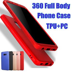 Il caso di Samsung Grado Full Body 360 ultra copertura sottile TPU + PC Phone con TPU la protezione dello schermo per Samsung S9 S8 Inoltre S7 Bordo
