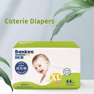 2020 Vente chaude pour enfants Diapers ultra-mince respirant à usage unique bébé Coterie Diapers confortable pour la peau Drop Shipping