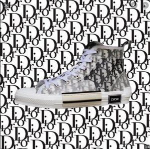 19ss Dior Converse Homme obliquo Oblique X KAWS da Kim Jones B23 donne degli uomini dello stilista Kanye  Triple S Casual Shoes High Top Sneakers Skateboard Shoes