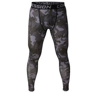 2020 camouflage men pants fitness joggers compression tights long pants leggings mens wear jogginsg