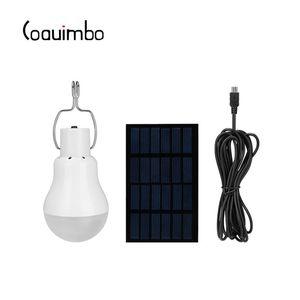 Kamp Yürüyüş Balık tutma Acil Işık Güneş Lambası için Kancalı Coquimbo Güneş Paneli 12W 130LM Portatif LED Çadır Ampul