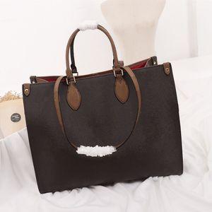 clássico contraste cor de flor de impressão de correspondência bolsas bolsas 41cm totes de compras saco de bagagem de viagem do monograma único ombro sacos crossbody
