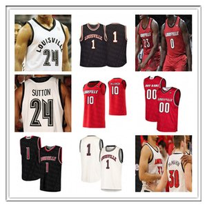 Özel Ncaa Koleji Louisville Basketbol Formalar Nwora 45 Mitchell Terry Rozier III Steven Enoch Dwayne Sutton Darius Perry Kimble Erkekler