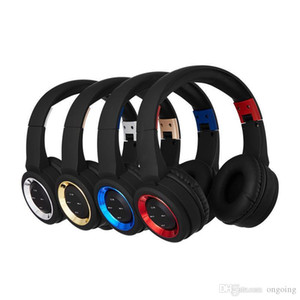 New TR905 Wireless Headphone Stereo Bluetooth Headsets deep bass earbuds with Mic Earphone Support TF Card For iPhone Samsung