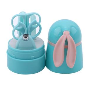 Bebê Healthcare Kit Bebê prego Saúde Dedo infantil Trimmer Scissors Animal recém-nascido dos desenhos animados prego Clippers Nagelknipper Crianças Manicure