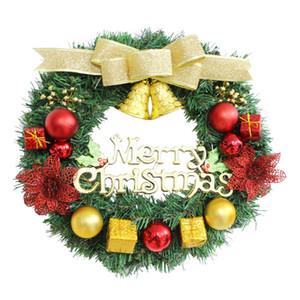 """30cm / 11.8"""" Corona di Natale fatto a mano Rattan sospensione Garland Finestra Front Door Ornamenti artificiale Corona di natale decorazioni di JK1910"""
