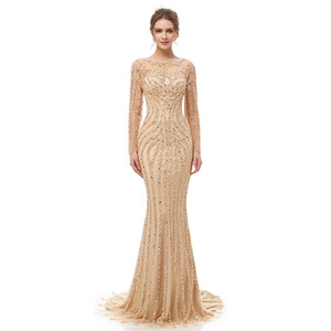 2020 Sexy Eva Longoria In Stock Red Carpet Celebrity Dresses Mermaid Sweetheart Backless Cannes Evening Gown Formal Prom Pageant Dress