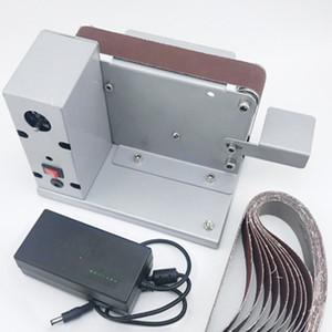 Twilight miniature belt machine DIY polishing machine sander fixed angle sharpener blade machine desktop