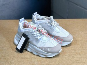VERSACE zapatos de moda casual con suela gruesa clásico de 2020 nuevos hombres y mujeres Hococal del zapato con cordones de zapatos par zapatillas de deporte del tamaño 36-45