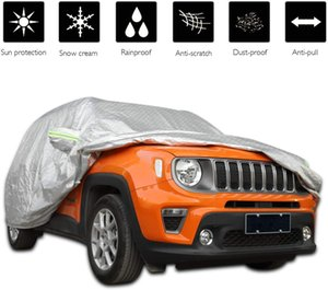 Car Cover Waterproof All Weather,Full Car Covers Windproof Snowproof UV Protection Dustproof For Jeep Renegade 2015+