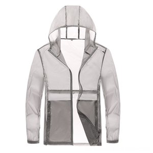 Summer Sun Protection Clothing Men Sun Protection Clothing Cardigan Breathable Sports Outdoor Win Men's Outerwear & Coats Men's Clothingd Co