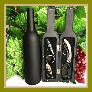 Fünf-Stück Wein Flaschenöffner Set Rotwein Korkenzieher Weinflaschenverschlüsse High Grade Weine Kitchen Bar Werkzeuge LJJA3806N
