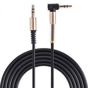 VBESTLIFE Ses Kabloları Araç Ses Hoparlör Kulaklık Bahar Kabloları Ücretsiz Nakliye için Erkek Aux Kablo L Şekilliler 1m Çekilebilir Kordon için Erkek 3.5mm