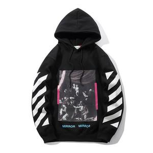 2020 erkek Tasarımcılar Kapüşonlular Sweatershirt Triko Erkek Kapüşonlular Giyim İnce Uzun kollu Gençlik Hareketleri Streetwear X08