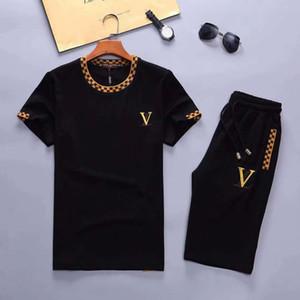Hommes survêtements de jogging hommes manches courtes T-shirt et shorts Printemps été décontracté marque unisexe Medusa sport Sets