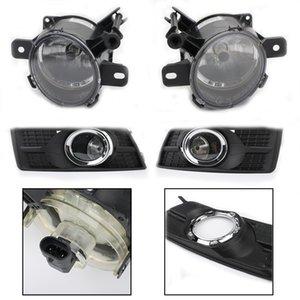 Areyourshop 4PCS / SET Araç Sis Lambaları Sürüş Işıklar RH LH için Cadillac SRX 2010-16 Ön Tampon Sis Lambaları Araba Oto Part Kapaklar